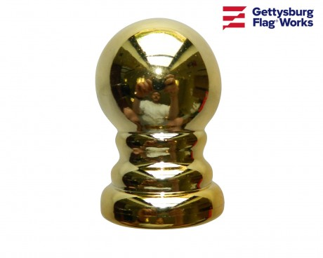Gold Ball for Rotating Poles