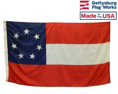 Confederate, 1st National Flag