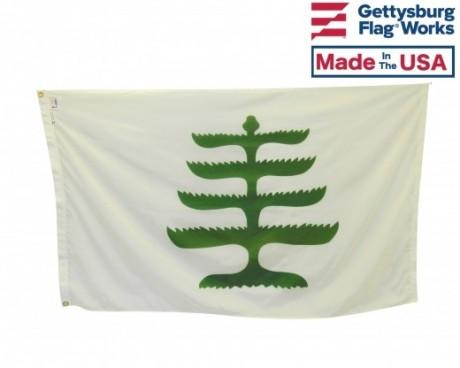 Historic Pine Tree Flag