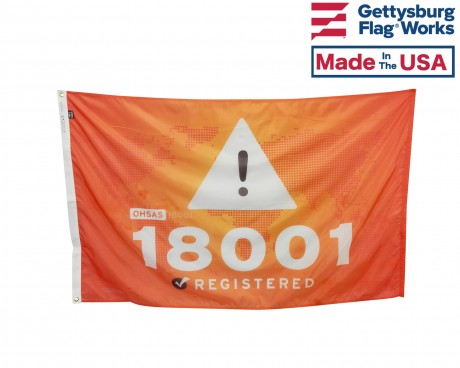 OHSAS 18001 Flag Photo