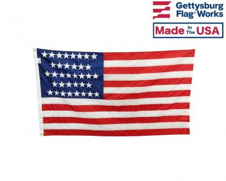 36 Star Flag front