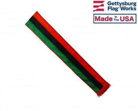 Afro-American Tri-Color Sash, 6'