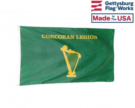 Corcoran Legion Flag
