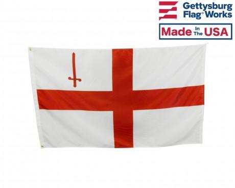City of London, England Flag