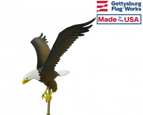 Flying Eagle, Natural Aluminum