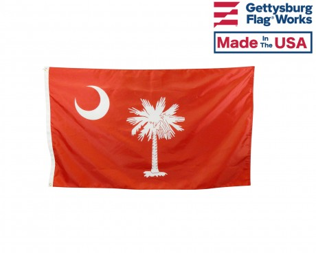 """""""Big Red"""" Citadel South Carolina Flag"""