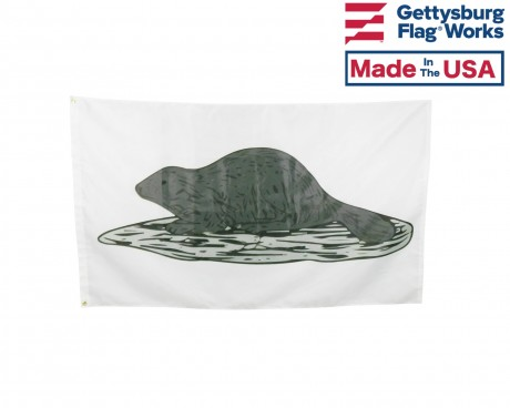 Original New York State Black Beaver Flag of 1775