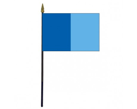 Dublin County Stick Flag (Ireland) - 4x6""