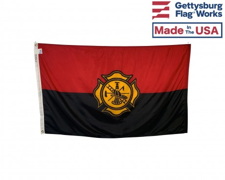 Fireman Remembrance Flag - 3x5'