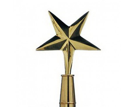 Eastern Star Gold Finial