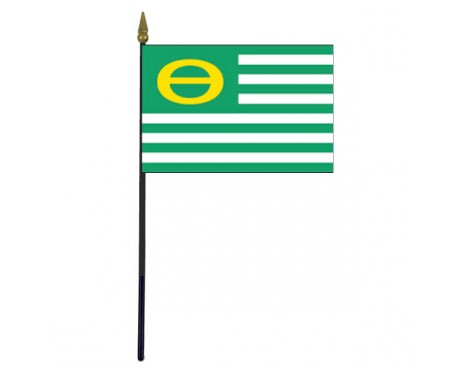 Ecology Stick Flag - 4x6""