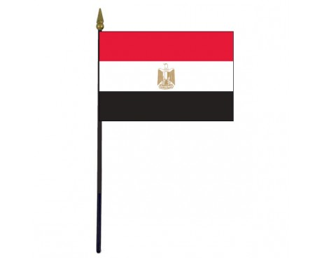 Egypt Stick Flag - 4x6""