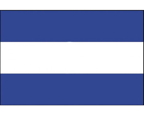 El Salvador Flag (No Seal) - 4x6' - Header & Grommets