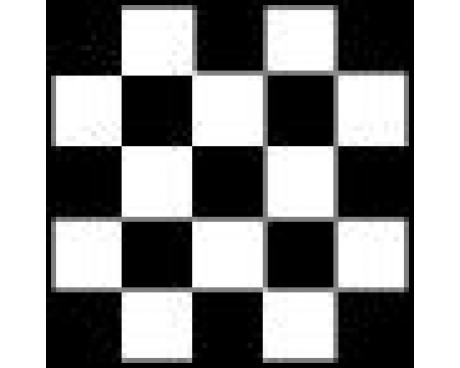 Checkered Flag - 3x3'