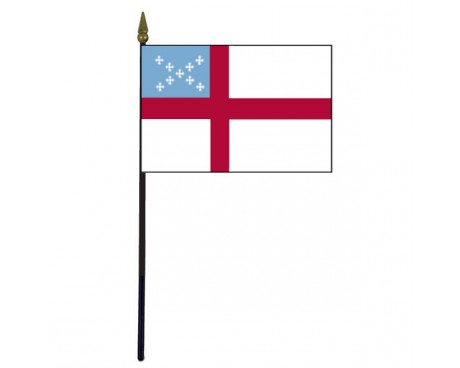Episcopal Stick Flag - 4x6""