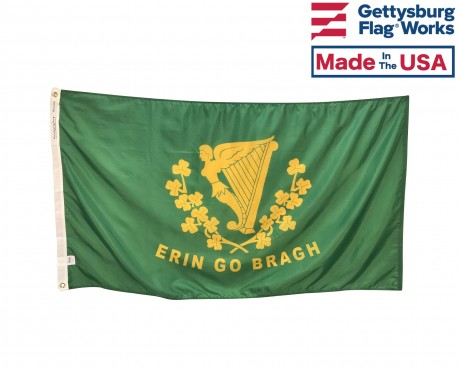 Ireland Erin Go Bragh Small Hand Waving Flag
