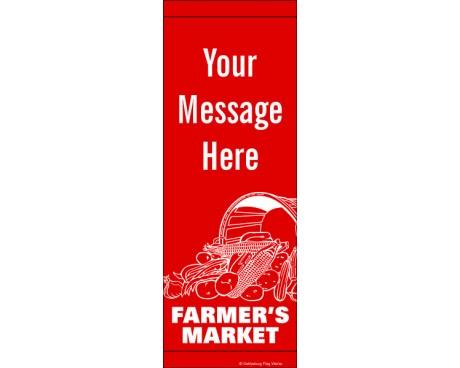 Farmer's Market Avenue Banner
