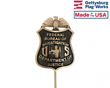 FBI grave marker