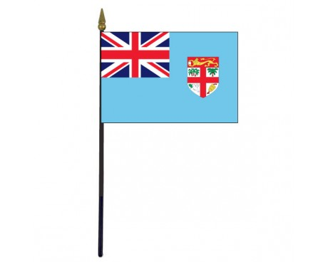 Fiji Stick Flag - 4x6""