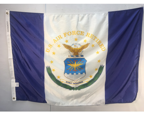 US Air Force Retired Flag - 3x4'
