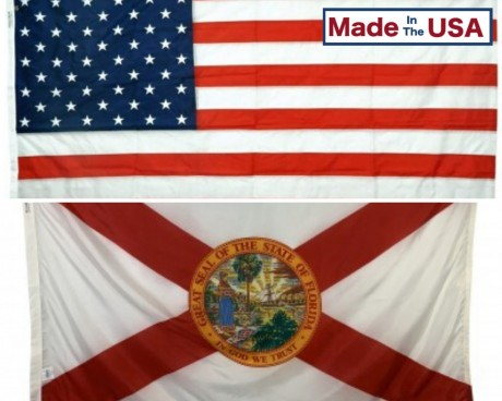 FLORIDA & BATTLE-TOUGH® AMERICAN FLAG COMBO PACK