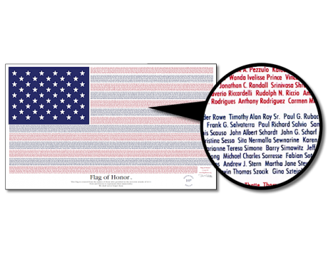 Flag of Honor 10th Anniversary - 3x5'