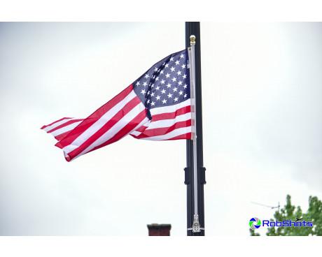 Light Pole Flag Set Single