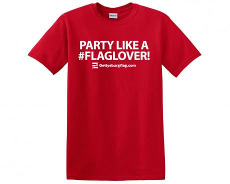 #FlagLover T-Shirt Front
