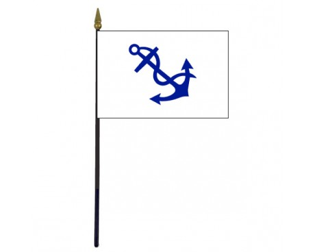 Fleet Captain Stick Flag - 4x6""