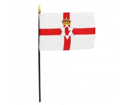 "4x6"" Northern Ireland Stick Flag"
