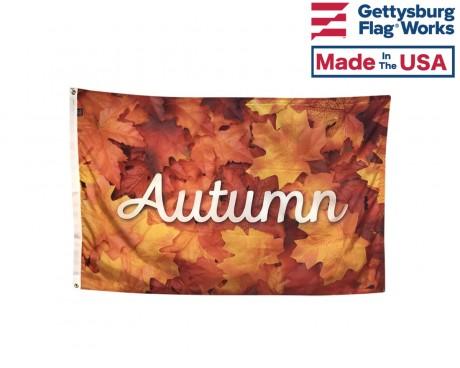 Autumn Leaves 3x5'