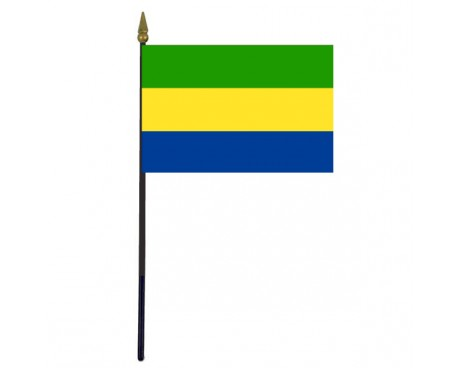 Gabon Stick Flag