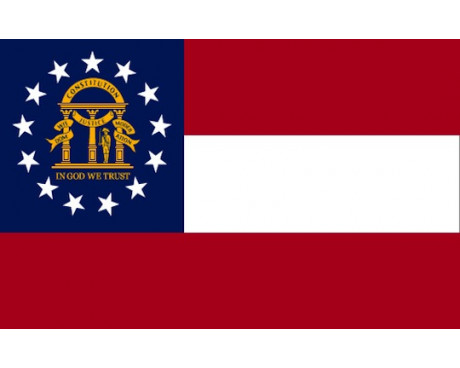 Georgia Flag - Outdoor