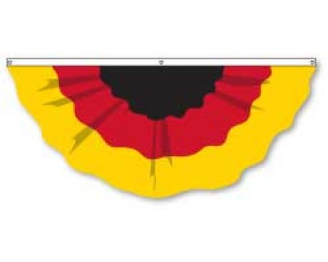 Germany Pleated Fan, 6', Nylon
