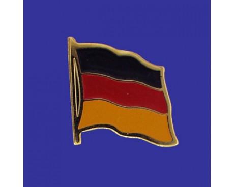 Germany Lapel Pin (Single Waving Flag)