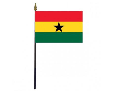 "Ghana Stick Flag - 4x6"""