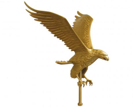 Flying Eagle, Gold Aluminum
