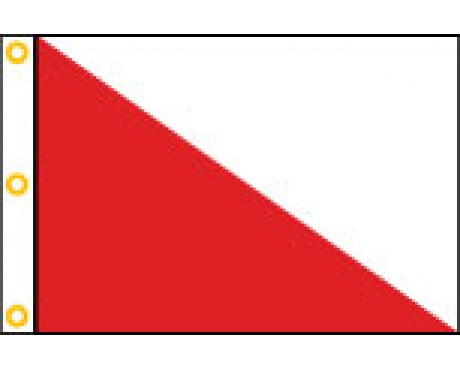 Golf Directional Flag Style #1 - 14x18""