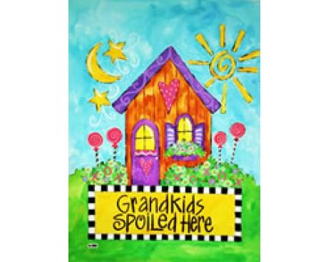 Grandkids Spoiled House Banner