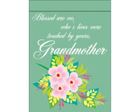 Grandmother Garden Flag