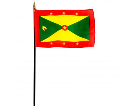 "4x6"" Grenada Stick Flag"