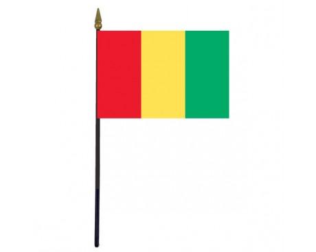 """Guinea Stick Flag - 4x6"""""""