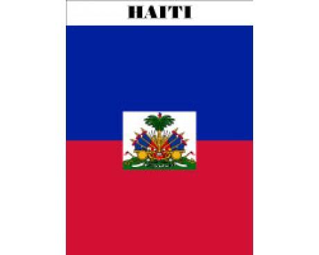 Haiti Garden Flag
