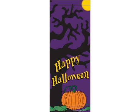 Halloween Pumpkin Avenue Banner
