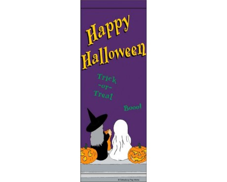 Halloween Trick or Treat Avenue Banner