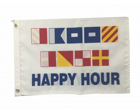 Happy Hour Signal Flag