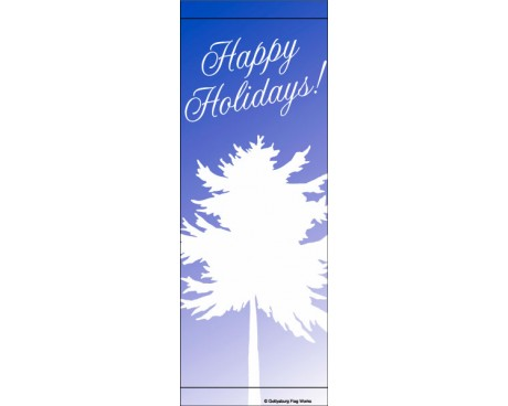Happy Holidays Tree Avenue Banner
