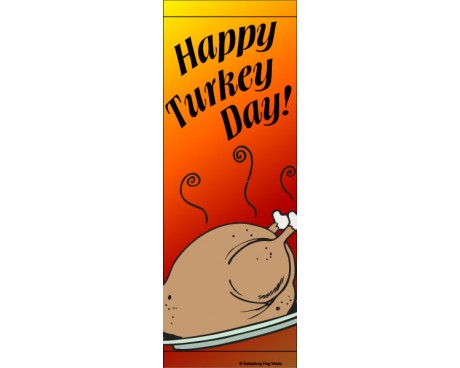 Happy Turkey Day Avenue Banner