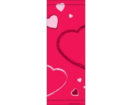 Hearts Valentine Avenue Banner