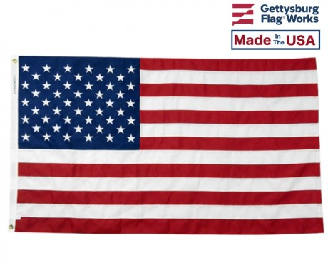 heavy duty poly american flag